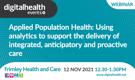 Applied Population Health: Using analytics to support the delivery of integrated, anticipatory and proactive care